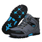 Men's Winter Snow Boots Warm Sports Outdoor Waterproof Ankle Hiking Work Shoes