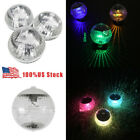 Solar Powered Floating Pond Light Garden Swimming Pool Color Changing LED Lamp