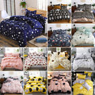 Printed Duvet Cover Set Soft Bedding Set Comforter Cover Bed Sheet Pillowcase image