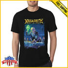 FREESHIP Megadeth T Shirt Rust In Peace Metal Rock Band Unisex T-Shirt Full SIze image