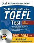 The Official Guide to the TOEFL Test Fifth Edition ETS 2017, Missing DVD-ROM