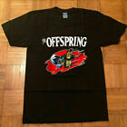 Rare!! Vintage The Offspring Punk Rock Band T-shirt TOP good quality image