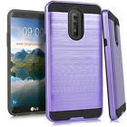 LG Stylo 4 Brushed Case Protective Cover