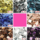 Kyпить 100Pcs Square Glass Mirror Mosaic Tiles Bulk Craft Supplies DIY Home Decoration на еВаy.соm