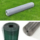 Heavy Duty Galvanised Fence Welded Wire Mesh Aviary Hutch Chicken Run Coop Pet