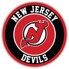 "New Jersey Devils Logo NHL Sport Car Bumper Sticker Decal  ""SIZES"" $3.75 USD on eBay"