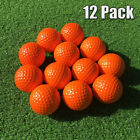 PU Foam Sponge Practice Golf Balls 12 Pack Indoor Outdoor Training US Stock