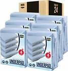 4 Pack Underpad 34 x 36 Quilted Waterproof Incontinence Pad Utopia Bedding