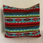 Pillow Cover Tribal Southwest Bright Print Custom Made CHOOSE Size Many Sizes
