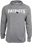 Zubaz NFL Football Men's New England Patriots Tonal Gray Lightweight Hoodie $34.99 USD on eBay