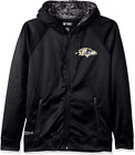 Zubaz NFL Men's Baltimore Ravens Full Zip Digital Camo Hood Hoodie, Black $49.99 USD on eBay