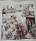 Laura Ashley DARCY Clover Irish One Euro Pillow Sham Embroidered Lace Cream NEW