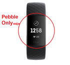 [Brand New] Fitbit Charge 3 | Pebble Only | Black/R Gold | Free Fast Shipping |