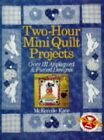 TWO HOUR MINI QUILT PROJECTS: Over 111 Appliqued an by McKenzie, Kate 0806986433