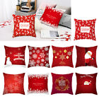 "74Colors 18x18"" Christmas Pillow Case Sofa Car Throw Cushion Covers Decor 02"