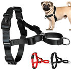 Nylon No Pull Dog Harness for Medium Large Dogs Bulldog Pitbull Boxer Rottweiler