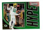AARON RODERS 2019 Panini Prizm GREEN EXCLUSIVE RETAIL HYPE Green Bay Packers