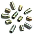 PACK OF 50 M6 x 13mm - M6 x 20mm - HEX DRIVE SCREW IN THREADED INSERT NUT TYPE E