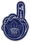 "Toronto Maple Leafs Puck Hand NHL Sport Car Bumper Sticker Decal ""SIZES'' $4.5 USD on eBay"