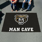 NCAA Man Cave Area Rug Mat 40 Colleges 5' x 8' Choose Your Team