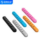 Silicone 7 Ports Cable Clip Organizer Wire Cord Management Winder Line Holder