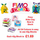 FIMO Kids Form & Play 42g Block Oven Bake Polymer Clay 24 Colours For Modelling image