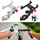 Aluminum Motorcycle Bike Bicycle Holder Mount Handlebar For Cell Phone GPS 2019