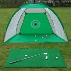Foldable Golf Training Hitting Cage Durable Portable Swing Trainer Chipping Net