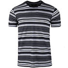 Men's Casual Classic Striped Crew Neck Short Sleeve Jersey T shirt Size S M L XL image