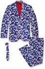 FOCO NFL Men's New York Giants Repeat Logo Ugly Business Suit - 3 Piece Set $59.95 USD on eBay