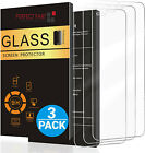 3-Pack iPhone 12 11 7 8 Plus X XS XR Max Premium Tempered Glass Screen Protector