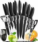 Stainless Steel Knife Set with Block Kitchen Knives Set Chef Knife Set