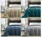 NEW Charisma Ultra Soft Plush Blanket - VARIOUS SIZES AND COLORS image