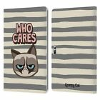 OFFICIAL GRUMPY CAT GRUMPMOJI LEATHER BOOK CASE FOR MICROSOFT SURFACE TABLETS