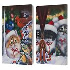 OFFICIAL CHRISTMAS MIX PETS LEATHER BOOK CASE FOR MICROSOFT SURFACE TABLETS picture