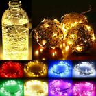 10/20/30/50/100 LEDs Fairy String Lights Copper Wire Battery Powered Xmas Decor