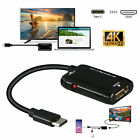 USB-C Type C to HDMI Adapter USB 3.1 Cable For MHL Android Phone Tablet Laptops