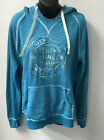 Harley Davidson Womens HD Centra V Pullover Sweatshirt Turquoise  R003312 $56.0 USD on eBay