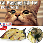 Pet Cat Toys Catnip Artificial 3D Fish Interactive Chewing Playing Sleeping Toy