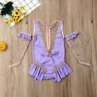 US Baby Girl Anne Wheeler Costume Romper Gloves Outfit For Birthday Xmas Parties