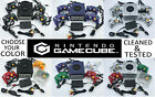 Choose Nintendo Gamecube Console Color + Up to 4 Controllers + Cords! CLEANED GC