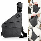 New Fashion Business Waterproof Personal Shoulder Pocket Bag Anti-Theft Package