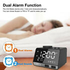 K11 bluetooth Speaker Alarm Clock Radio Dual USB Charging Phone - NEW