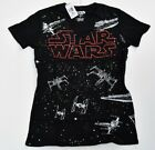 Cut Out V-Neck  Star Wars Womens T Shirt, X Wing, Tie Fighter & Star Destroyer $13.99 USD on eBay