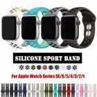 For NK+ Apple Watch Series 1 2 3 4 5 Silicone Sport iWatch Band Strap image