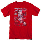 Betty Boop Boop Ball T Shirt Mens Licensed Cartoon Merchandise Baseball Red $23.49 CAD on eBay