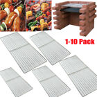 Replacement Heavy Duty 3.6mm Stainless Steel BBQ Cooking Grill 45*30cm - 10 Pack
