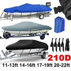 UV Protector Speedboat Boat Mooring Cover/Trailer able 210D Boat Cover