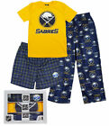 Outerstuff NHL Hockey Youth Buffalo Sabres 3-piece Boxed Pajama Set $29.99 USD on eBay
