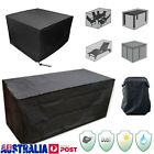4 Size Waterproof Outdoor Furniture Cover Garden Sofa Table Chair Protector Au